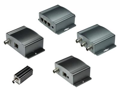Ethernet / PoE през коаксиално удължение