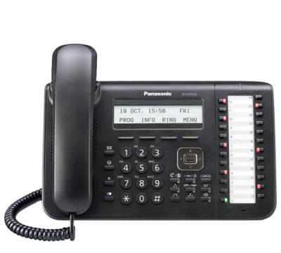 KX-DT543  Цифров системен телефон от серията KX-DT500