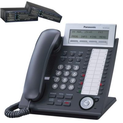 Panasonic KX-NT343B  Цифров системeн IP телефонeн апарат