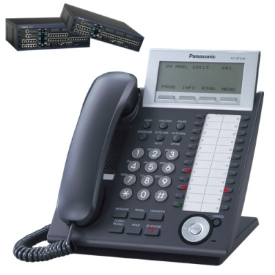 Panasonic KX-NT346B  Цифров системeн IP телефонeн апарат