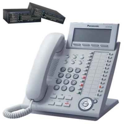 Panasonic KX-NT346W  Цифров системeн IP телефонeн апарат