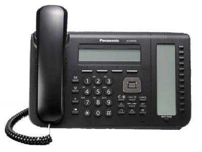 KX-NT553B  Стандартен IP телефон с 3-линеен LCD дисплей