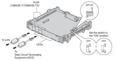 KX-TDA3450 - схема на включване