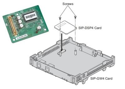 KX-TDA3451  4-канална разширителна платка (SIP-DSP4)