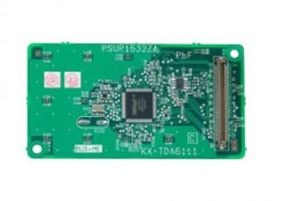 KX-TDA6111  Карта за включване на трети и четвърти допълнителен блок